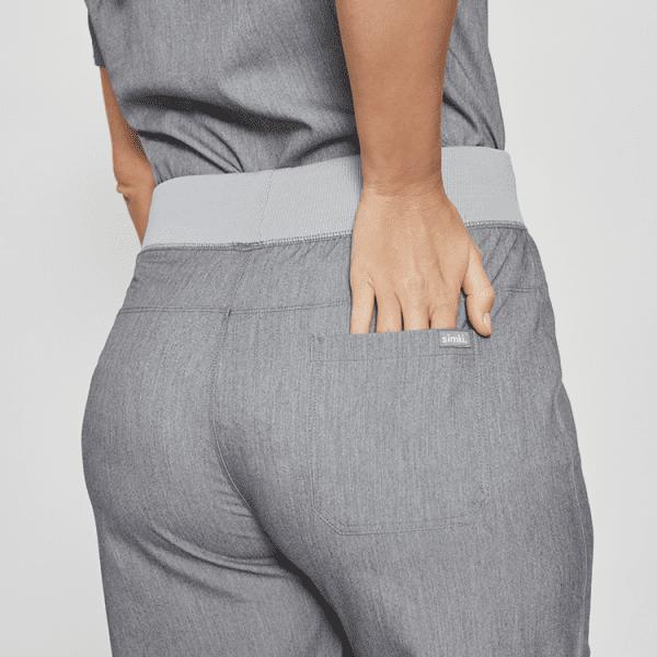 Luxury Female Scrubs Bottom Pocket